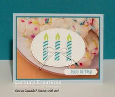 Karina's Kreations: Stampin'Up Picture Perfect Birthday Sneak Peak