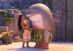 """Disney Moana """"Shark Head"""" - this scene is so funny"""