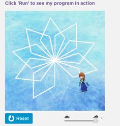 Code.org uses Frozen characters Anna and Elsa to teach young girls to code