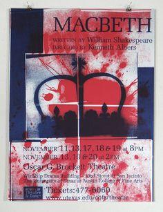 DL / Print / Macbeth Poster