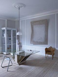 Décoration minimaliste, scandinave, épurée, cocon, cocooning.Oliver Gustav- appartement gris et blanc scandinave
