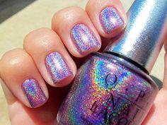 ✦ Pinterest: @Lollipopornstar ✦ Manicure | Nail polish | OPI | Holographic