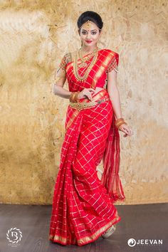 You Will Definitely Want To Steal These Bridal Looks For Your Wedding Beautiful Saree, Beautiful Indian Actress, Beautiful Bride, Beautiful Women, Indian Wedding Poses, Indian Wedding Couple Photography, Bridal Looks, Bridal Style, Saree Photoshoot