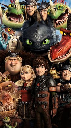 How to Train Your Dragon 2 (2014) Phone Wallpapers | Moviemania