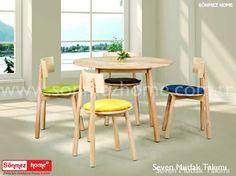 Seven Mutfak Masa Takımı evinize çok yakışacak!  :smile::+1: #Modern #Furniture #Seven #Yuvarlak #Mutfak #Masa #Takımı #Sönmez #Home Ayrıntılı Bilgi İçin : https://goo.gl/QmYhHV