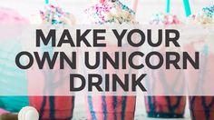 Unicorn Frappuccino Drink Recipe | Starbucks Copycat