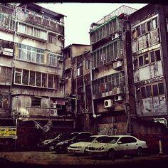 """Taipei, city of concrete & mould, iphone 4s + pixlromatic"""