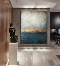 Original Painting Canvas Art Large Decor Art Oil Abstract
