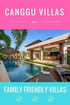 Family Friendly Canggu Bali Villas - Rolling Along With Kids Small Backyard Gardens, Backyard Garden Design, Bali With Kids, Bali Accommodation, Philippine Houses, Canggu Bali, Bali Travel, Beach Resorts, Friends Family