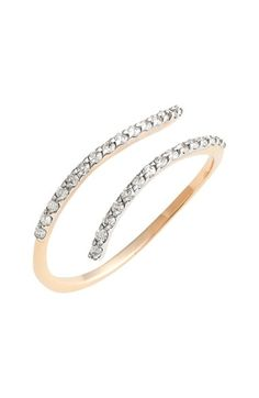 kismet by milka Diamond Coil Ring available at #Nordstrom