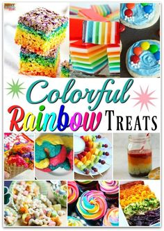 Colorful rainbow par