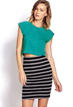 Tough Time Crop Top | FOREVER21 - 2000125590