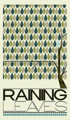 Raining leaves