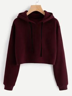 To find out about the Hooded Drawstring Cashmere Sweatshirt at SHEIN, part of our latest Sweatshirts ready to shop online today! Teenage Outfits, Teen Fashion Outfits, Outfits For Teens, Trendy Outfits, Girl Outfits, Womens Fashion, Trendy Hoodies, Sweatshirts Online, Hoodie Sweatshirts