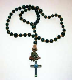 Nicene Creed, Rosary Necklace, Prayer Beads, Christian Faith, Catholic, Medieval, Prayers, Jewelry, Rosaries