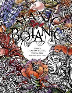 Manic Botanic Zifflins Coloring Book