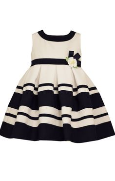 Sweet Heart Rose Baby Girls\' Navy & Pink Party Dress | macys.com ...