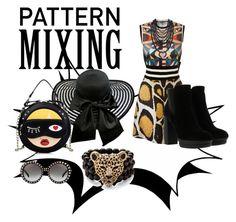 """Cheetah print mix up"" by shawolfanxoxo on Polyvore featuring Giles, Givenchy, Hogan, Palm Beach Jewelry, Humble Chic and Prada"