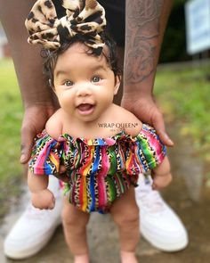 Cute Mixed Babies, Cute Black Babies, Beautiful Black Babies, Cute Babies, Pretty Little Girls, Cute Little Baby, Cute Baby Girl, Lightskin Babies, Stylish Baby Girls