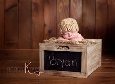 Woven Beanie, Textured Baby Hat, Newborn Photography Prop. $25.00, via Etsy.