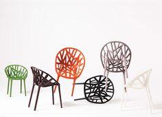 Ronan and Erwan Bouroullec's Vegital Chair for Vitra