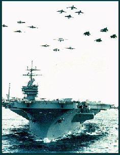 The USS Saratoga - the ship closest to Dad's heart . . .