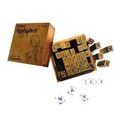Sellos de madera Scrap coquette: Amazon.es: Juguetes y juegos