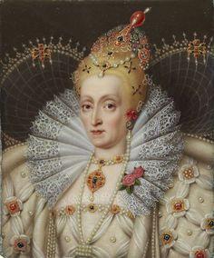 Portrait of Elizabeth I, Queen of England, 1550 - 1599 Elizabeth Bathory, Elizabeth I, Elizabethan Fashion, Elizabethan Era, Tudor Dynasty, Tudor Era, Plantagenet, English Royalty, Queen Of England