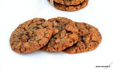 Après les cookies très sophistiqués et oh combien délicieux,au praliné de pistache, inspiration Cédric Grolet,je vous propose pour cette seconde et dernière semaine consacrée aux cookies, 2 versio…