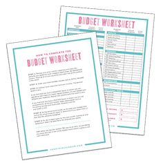 Learn how to create a budget that will actually work. Includes free budget template to print so you can make your own workable budget Budget Spreadsheet, Budget Binder, Monthly Budget, Sample Budget, Monthly Expenses, Budget Planner, Making A Budget, Create A Budget, Making Ideas