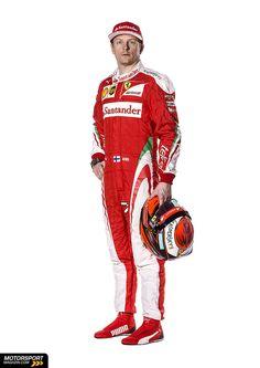 Formel 1 2016, Präsentationen, Kimi Räikkönen, Ferrari, Bild: Ferrari