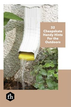 Save those milk jugs, soda cans, pool noodles and other things around your house you thought were useless. Think again! Give them a new life outdoors with these genius ideas. Yard Tools, Milk Jugs, Tiki Torches, Lawn Chairs, Pool Noodles, Buying A New Home, Hedges, Lawn And Garden, Gardening Tips