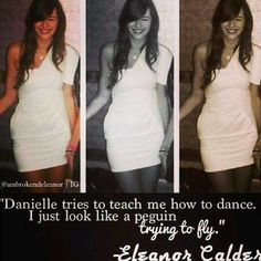 Hahaha Eleanor! Ooooooh. So cool how me her and Perrie and Danielle have so much in common.. I sing, dance, and I love fashion and makeup. (I don't model like Eleanor though.)