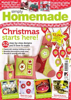 The UK's favorite multi-craft magazine, packed with ideas and crafty inspiration for you and your home.