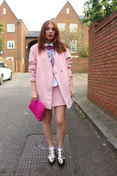 Motel Rocks - London Fashion Week Street style