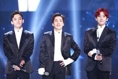 Chen, Xiumin, Baekhyun - 161101 SBS Power FM 20th Anniversary Concert  Credit: From Me To Chen. (SBS 파워FM 20주년 콘서트)