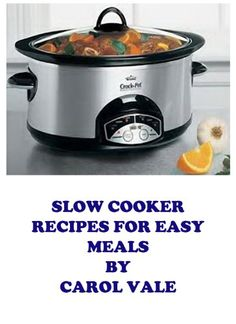 """Free Kindle Book For A Limited Time : Slow Cooker recipes for easy meals (Quick and Easy Recipes) - This is the second book in my series of quick and easy recipes cookbooks. Quick, easy to read and use slow cooker recipes, that you can mix, set the cooker and leave to cook. At the end of the day you have a delicious hot meal ready to serve.Scroll up and click """"Buy Now"""" to start reading and cooking"""