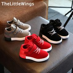 2016 Autumn winter new Children's shoes girls boys sneakers Non-slip matte casual shoes breathable Super soft and comfortable