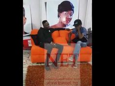 Singer - Sean Tizzle Gives the ''F U'' Sign While Walking Out Of An Interview…