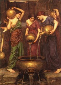 "J. W. Waterhouse ""The Danaïdes"" 1903"