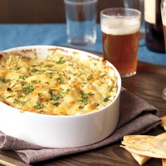 The unbaked dip can be frozen, up to 1 month. Thaw completely before baking.