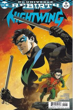 DC Nightwing Rebirth comic issue 19 Limited variant