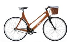 The most beautiful step through we could imagine Suprisingly quick Coming soon Bamboo Bicycle, Wooden Bicycle, Wood Bike, Women's Cycling Jersey, Cycling Art, Cycling Quotes, Cycling Jerseys, Push Bikes, Bike Frame