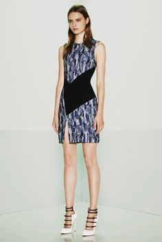 Prabal Gurung Resort 2015 Fashion Show - Tilda Lindstam