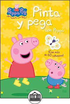 Pinta y pega con Peppa (Peppa Pig. Actividades): (Incluye adhesivos) de VV. AA. ✿ Libros infantiles y juveniles - (De 0 a 3 años) ✿