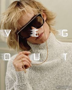 It's all about eyewear with attitude this season. Featuring signature #Falabella chain detailing, shop in store and online at #StellaMcCartney.com  #StellasWorld #StellaCares Elliott Erwitt, Ad Campaigns, Editorial Design, Stella Mccartney, Eyewear, Attitude, Graphic Design, Chain, Sunglasses