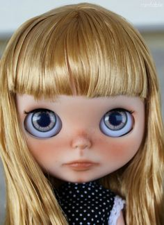 Peggy Lane - Custom OOAK arte Blythe Doll por Rainfable muñecas (2015)