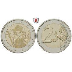 Slowenien, 2 Euro 2014, bfr.: 2 Euro 2014. Jahrestag der Krönung von Barbara von Cilli. bankfrisch 5,00€ #coins