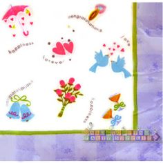 Bridal Shower 'Wedding Wishes' Large Napkins (16ct)    Hard To Find Party Supplies