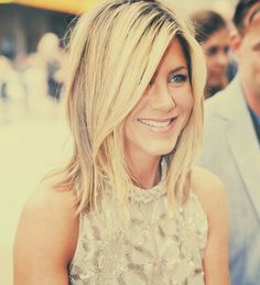 Jennifer Aniston with Short/Medium Length Hair
